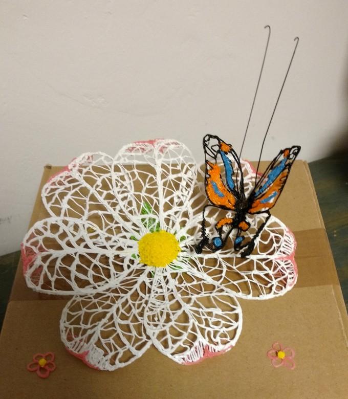 Penna 3d Fabbrica 3d farfalla