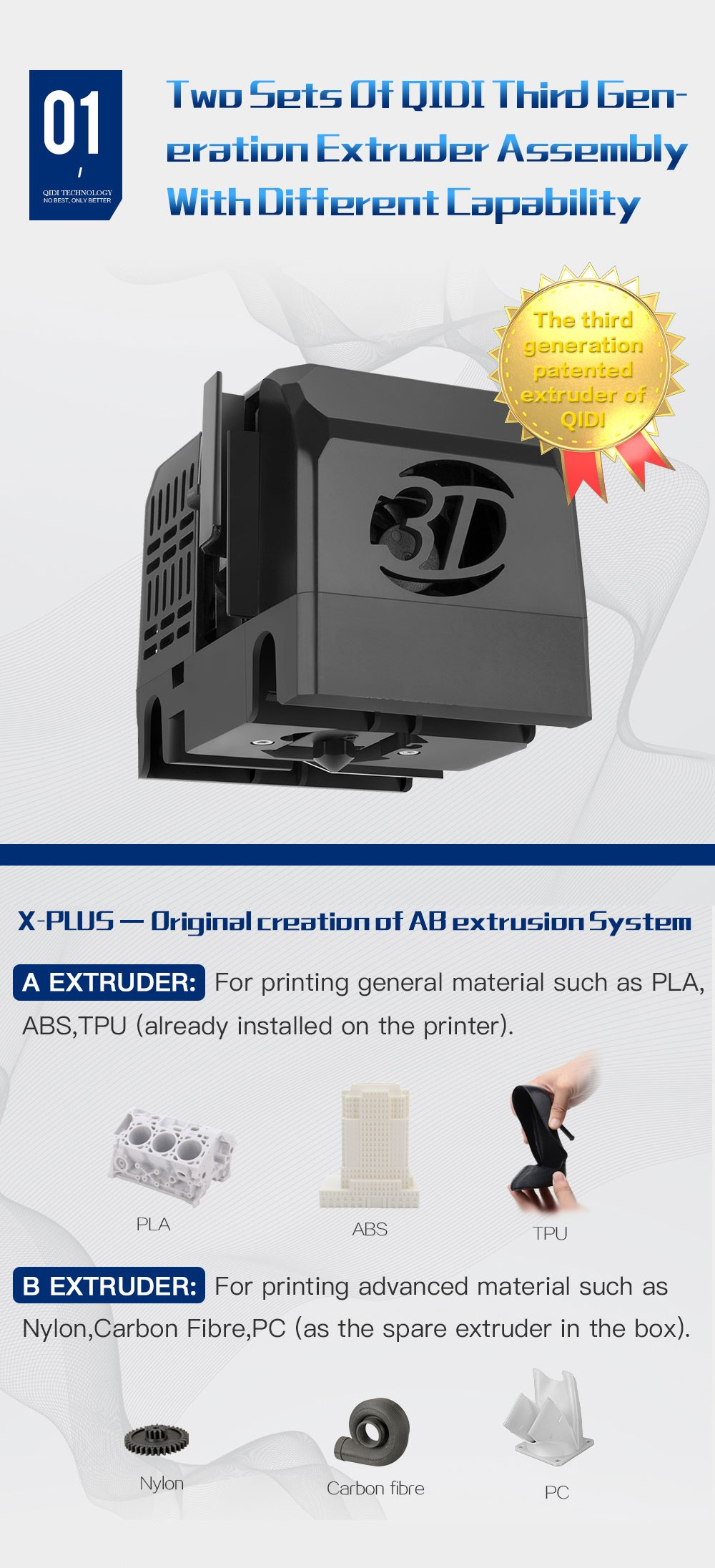 Stampante 3d X-Plus Qidi Tecnology