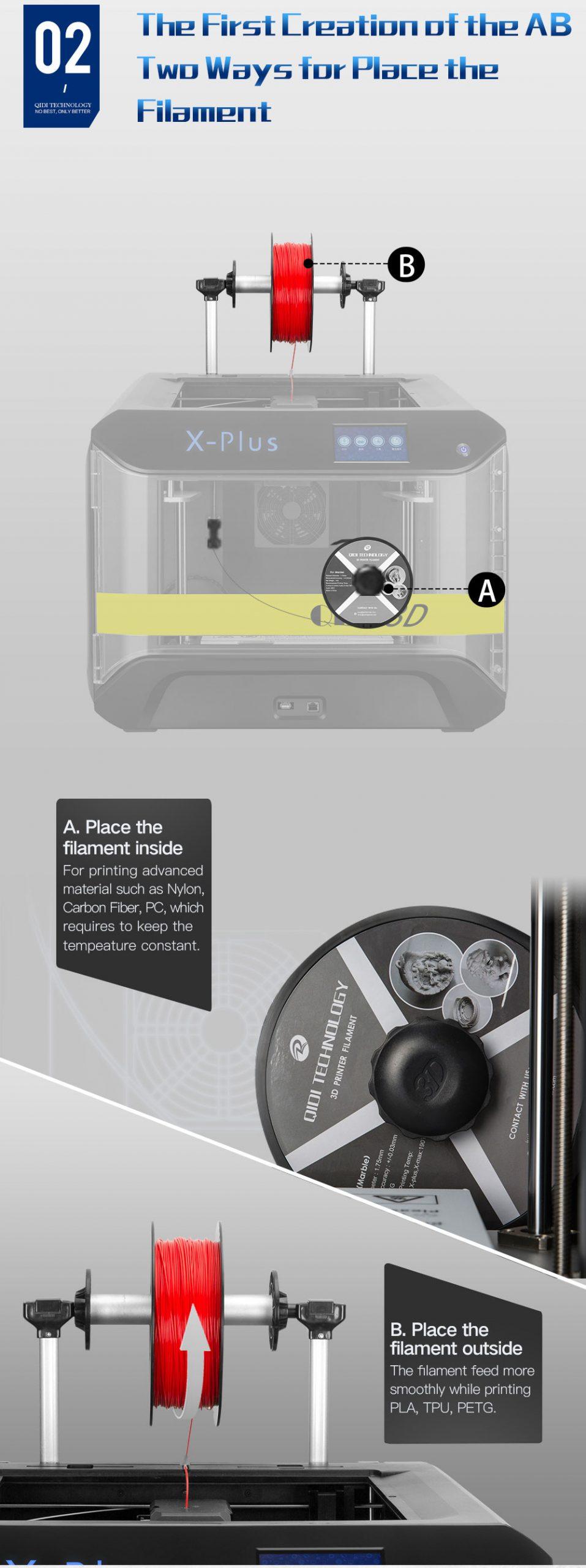 Qidi Tecnology - X-Plus - Fabbrica 3d